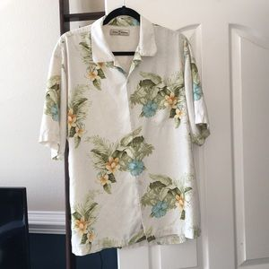 Tommy Bahama 100% silk shirt